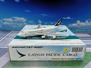 JC Wings Cathay Pacific Cargo B747-400F B-LIA 1:400