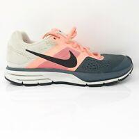 Nike Womens Air Pegasus 30 599392-604 Pink Grey Black Running Shoes Size 7.5