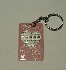 Heart Key Chain Grinder Card