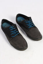 Fred Perry Casual Shoes Daily Sneakers Laces Fastening Designer Black UK 8 S233
