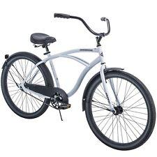 """Huffy 26"""" Men's Cranbrook Beach Cruiser Comfort Bike - White Brand New in Box"""