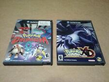 Pokemon Colosseum & XD Gale of Darkness Nintendo Gamecube GC NGC