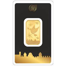 10 gram Gold Bar - Holy Land Mint Israel - 999.9 Fine in Assay