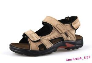 Men's Sandals Shoes Summer Open Toe Sport Beach Casual Summer Outdoor Oversize
