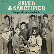 Saved & Sanctified Songs OF The Jade Label Vinyl LP Record! Rare R&B Gospel SALE