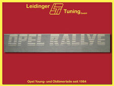 Opel Kadett C Panels In Exterior Body Parts Ebay