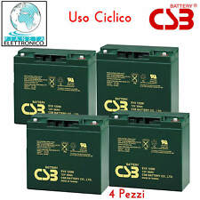 KIT BATTERIE 48V 20Ah GEL AGM CICLICHE DEEP-CYCLE BICI ELETTRICA ? 4 x 12V
