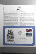 FDC Stamp World War II 1941 A World at War 3Sep1991 Phoenix AZ #20