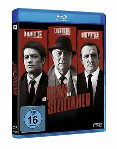 Der Clan der Sizilianer [Blu-ray/NEU/OVP] Jean Gabin, Alain Delon, Lino Ventura