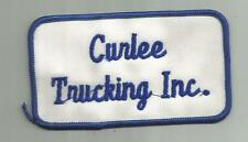 VINTAGE CURLEE TRUCKING INC COMPANY TRUCK DRIVER PATCH CONCORD NC TRANSPORT