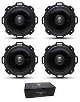 "Two Pair of Rockford Fosgate 4"" Power 320W 4 Ohm 2-Way Full-Range Speakers T142"