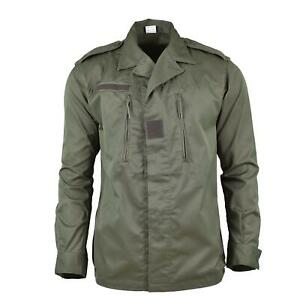 Genuine French army F2 combat jacket military issue surplus shirt olive OD NEW
