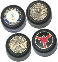 Baton Cap Replacement Enhances Standard Tactical Police Batons Brass Inlays ASP