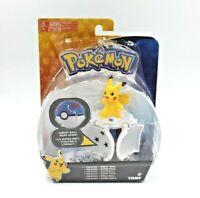 Pokemon 4TOMY  Throw 'N' Pop Poke Ball - PIKACHU & Poke Ball - Free Shipping