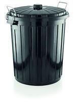 Abfalleimer Mülleimer Müllkorb Müllbehälter 55 Liter Ø 46 x H: 55 cm Gastlando