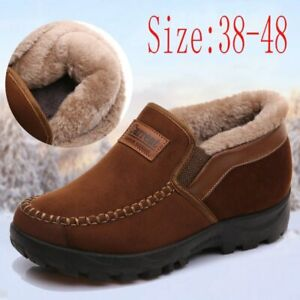 Women Boots Warm Velvet Padded Thickened Work Shoes Non-Slip Casual Women Shoes