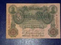 GERMANY - 50 MARK 1910 -  VERY  FINE