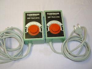 Fleischmann Nr. 6735 MSF-Trafo  2 Stück pro Auktion Top  !!
