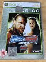WWE SmackDown Vs. RAW 2009 (Xbox 360) Classics with Manual