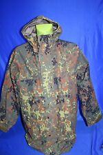 Bundeswehr Tarnjacke Angeln Gore Tex Schutz Jacke Regenjacke Outdoor Gr.52- 54