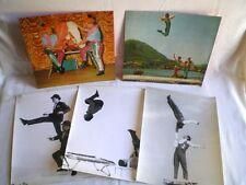 5 ANCIENNES PHOTOS NUMÉROS DE CIRQUE VERS 1970
