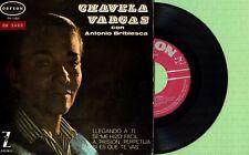 CHAVELA VARGAS / Llegando A Ti / ORFEON OE-3.021 Pres Spain 1965 EP VG+