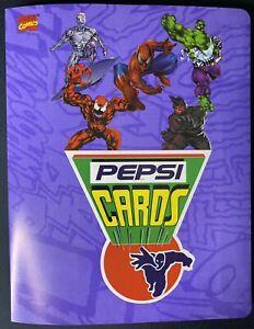 Album 1994 Marvel Pepsi Cards Mexico NO HOLOGRAMS