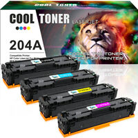 4 Pack Compatible for HP CF510A 204A Toner LaserJet Pro MFP M180nw M181fw M154a