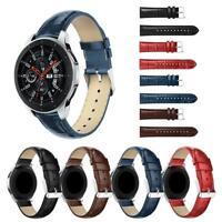Leather Smart Watch Bracelet Strap Wrist Band Belt for Samsung Galaxy Watch 46mm