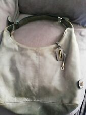 Jimmy Choo Grey Leather Tote