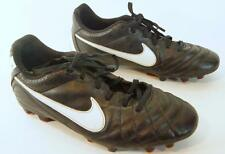 Nike Boys Tempo Soccer Cleats Kids Childrens Shoes Sneakers Size 5.5Y Black