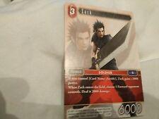 Final Fantasy TCG Zack 1-012R