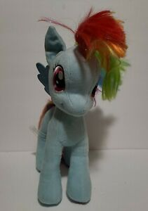 "My Little Pony Rainbow Dash 18"" Plush Pegasus Horse Doll Toy"