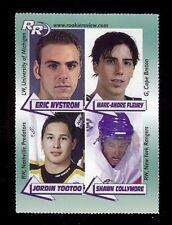 (100) MARC-ANDRE FLEURY 2002 Rookie Review Cape Breton Magazine Card Hockey LOT
