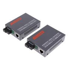 100/1000Mbps Ethernet to Fiber Optical Converter Sc port Single mode Up 25Km