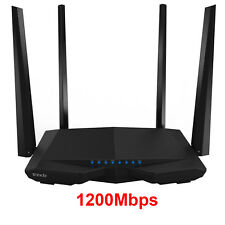AC1200 Dual Band Fast Ethernet Home Router Computers WiFi Games Network Wireless