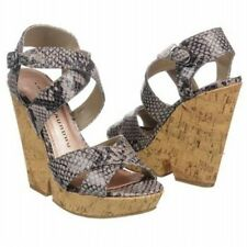 Platforms & Wedges Medium (B, M) Synthetic Heels for Women