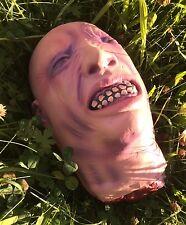 Halloween interrotti Testa Decorazione da Appendere o tabella Prop sanguinoso sanguinoso Lattice Zombie