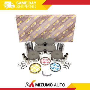 Full Gasket Set Pistons Bearings Fit 01-04 Nissan Pathfinder Infiniti 3.5 VQ35DE