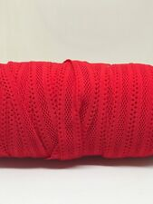 Soft Hallow Fold Over Elastic Band 2 Metres 15 mm Headbands Baby Bow Band Lace