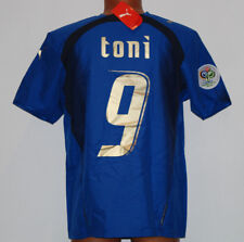 maglia italia 2006 puma TONI no match worn player issue World Cup BNWT XXL