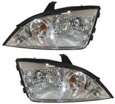05 06 07 Focus Left & Right w/o HID, non SVT Headlight Headlamp Lamp Light Pair