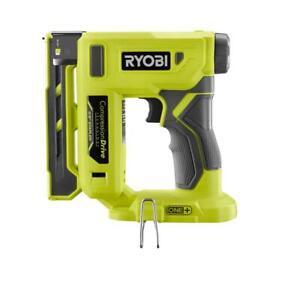 "New RYOBI P317 18-Volt ONE+ Cordless Compression Drive 3/8"" Crown Stapler"