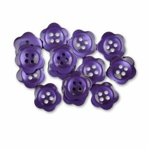 """Blumenthal Lansing Favorite Findings Buttons - Lime Blooms - 13 Buttons 5/8"""""""