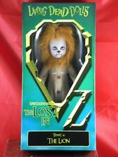 Mezco Living Dead Dolls The Lost In Oz Teddy as The Lion 2015