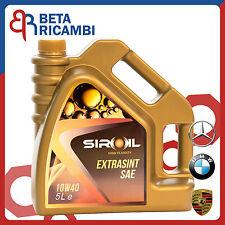 Olio motore Siroil 10W40 10W-40 tanica da 5 Litri per motori BMW Mercedes