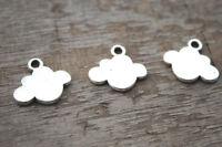 15pcs Cloud Charms silver tone Cloud Charms pendants ,DIY Supplies 13x16mm