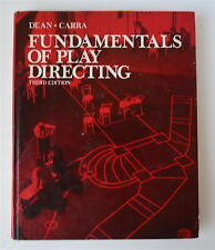 Fundamentals of Play Directing by Alexander Dean, Lawrence  Carra, Signed 1974