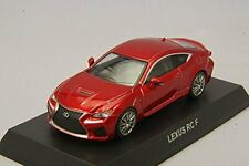 Kyosho 1/64 Lexus RC F Red finished product