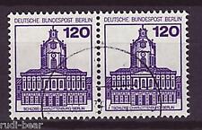 Berlín nº 675 Vandersanden. castillos & cerraduras waagrechtes par -2